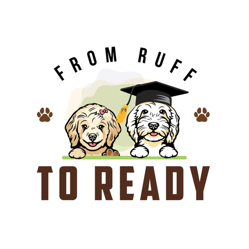 Design a play full logo for Dog Training Business