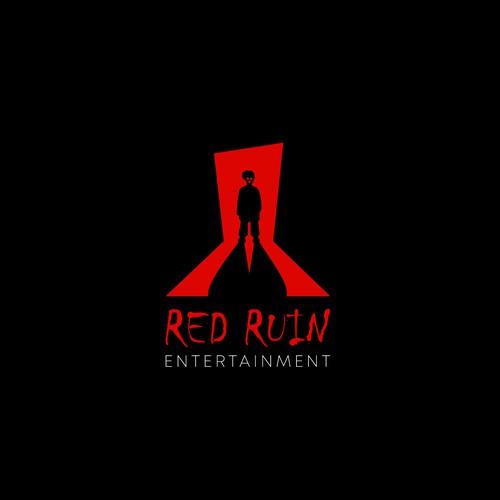 Red Ruin - Film production company need a horror logo.