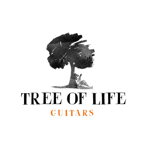 Logo needed for The Tree of Life, ethically conscious, organic, loving acoustic guitar company.