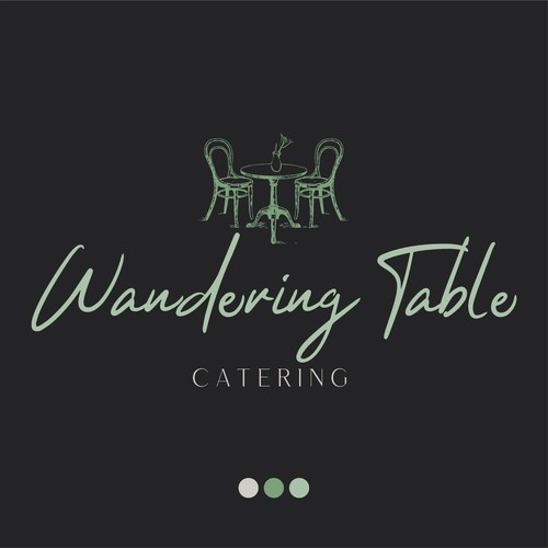Logo concept for a catering business