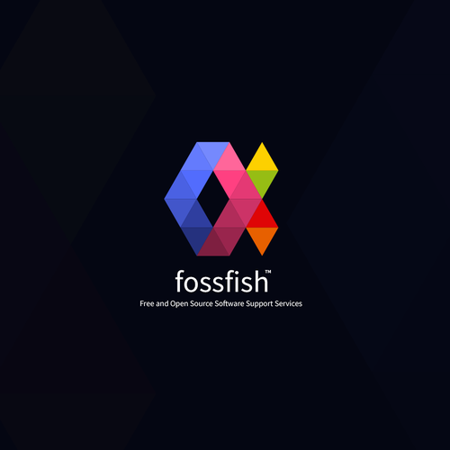 FossFish Logo Design