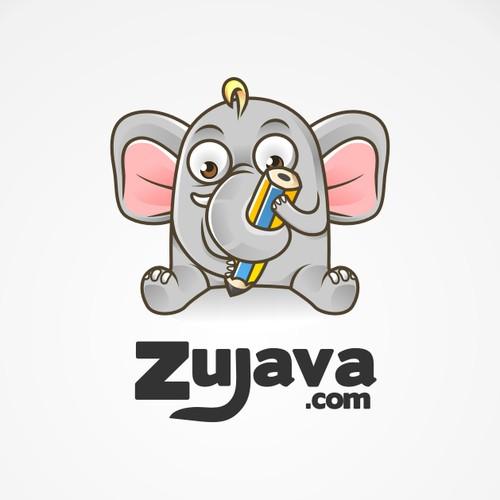 Online Writer's Website Zujava Logo