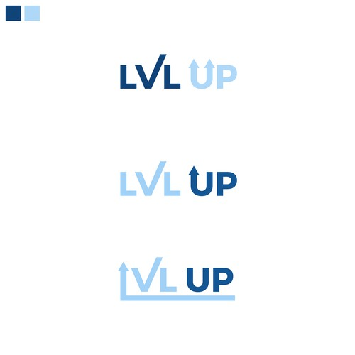 Logo concept for LVLUP