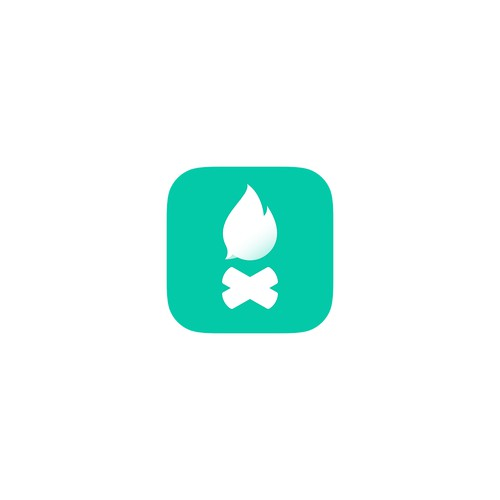 iOS app icon for a group chatting app
