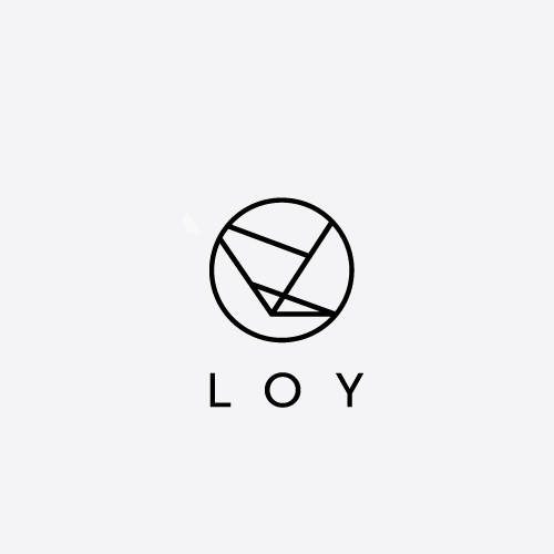 Geometric logo design for a freelance interaction designer