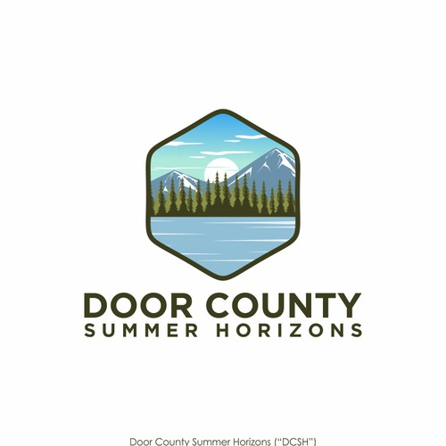 Logo for door county