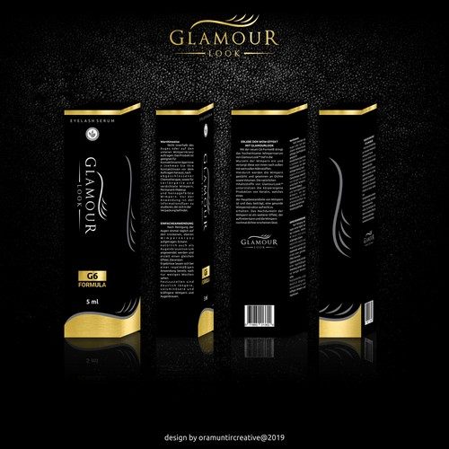 GlamourLook is looking for an eyecatching packaging designe