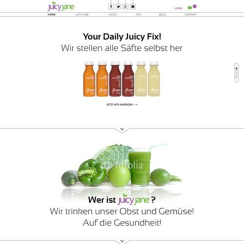 Webdesign -Juice