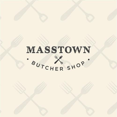 Masstown Butcher Shop logo