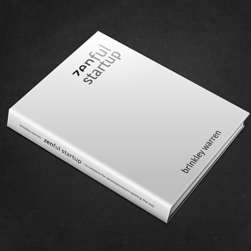 book or magazine cover for ZENFUL STARTUP