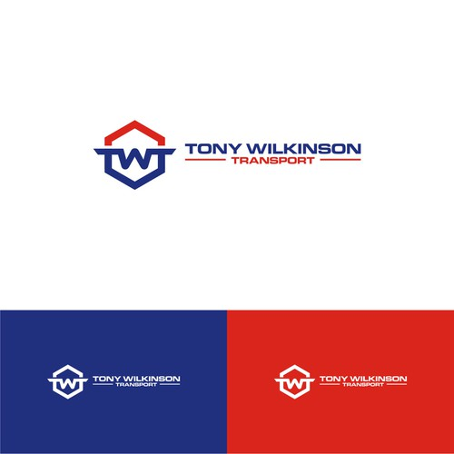 Logo for transportation service