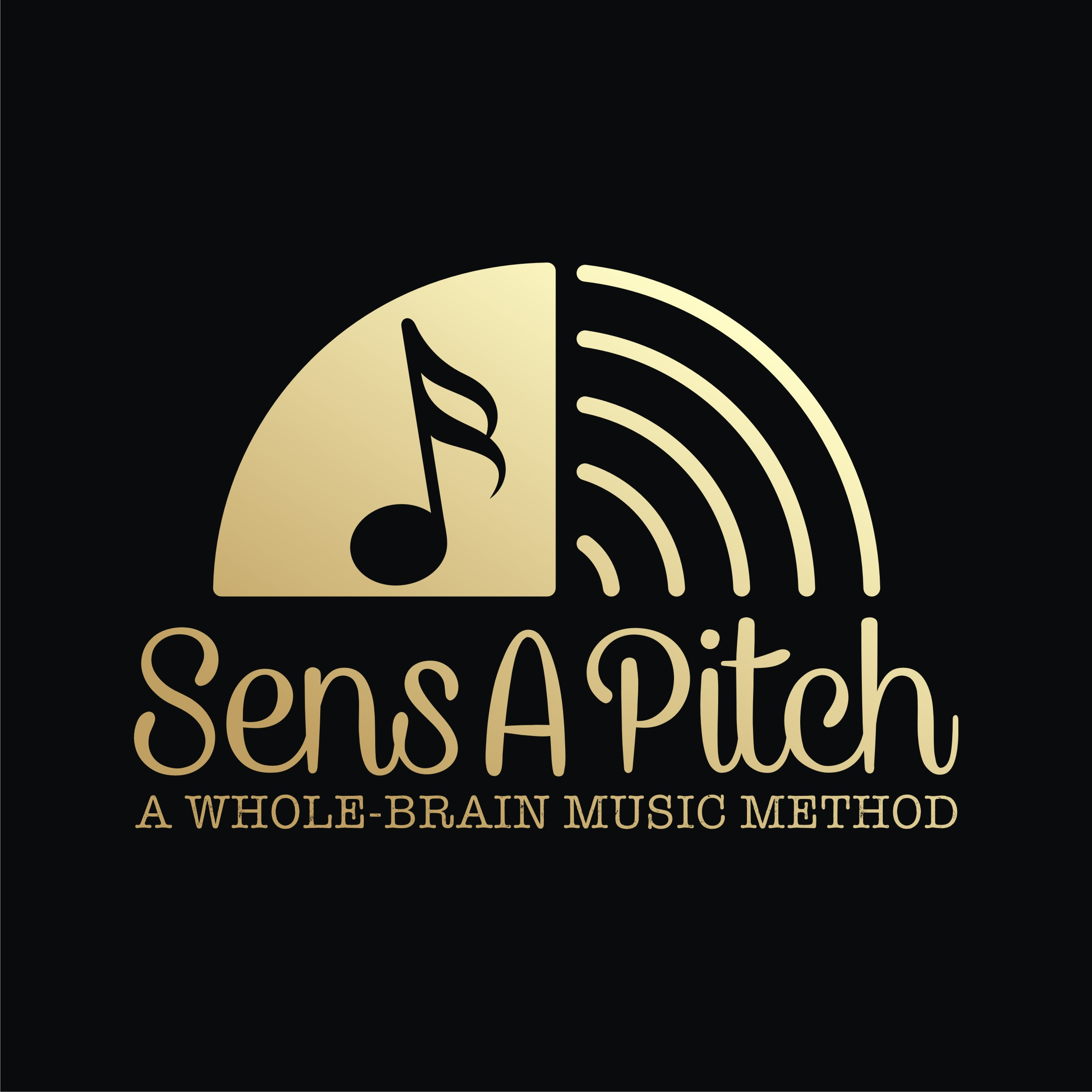 Create a logo for a Perfect Absolute Pitch Method - Music