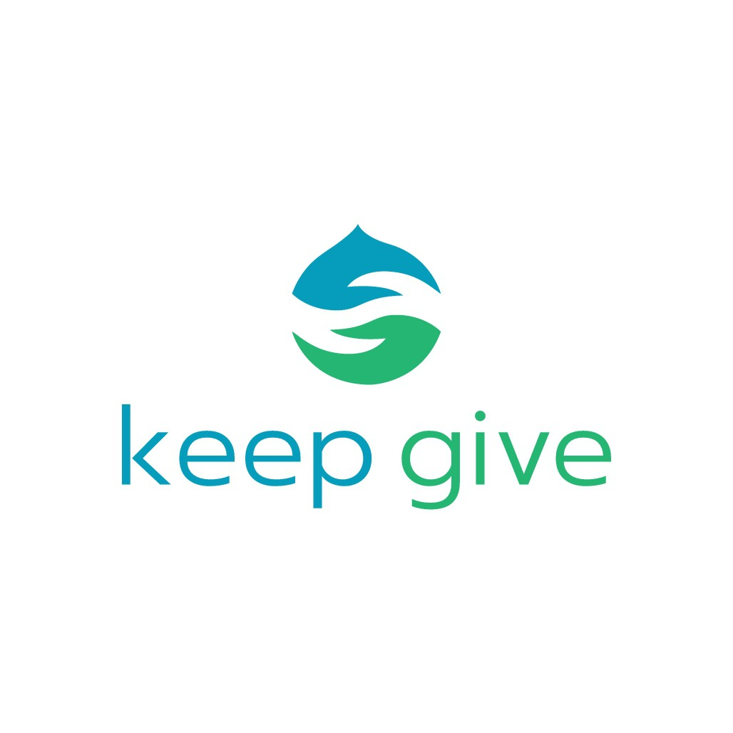 Design my eco-chic Brand 'Keep Give' with thanks!