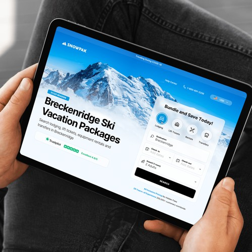 Ski Park Booking Site