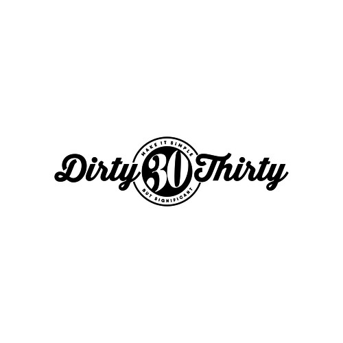 Dirty Thirty Logo Design