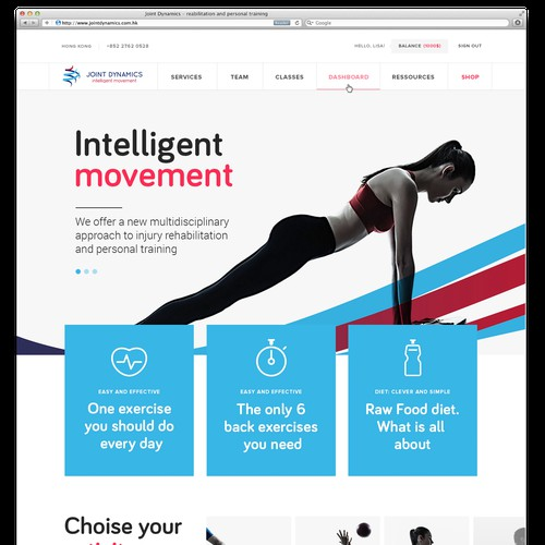 Design for Personal fitness trainers