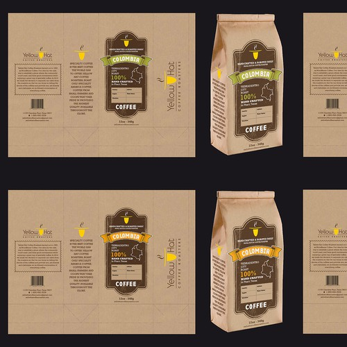 Coffee Coffee Coffee!! We need a great design to go on bags with delicious coffee!