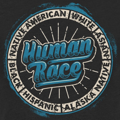 Human Races are Equal T-shirt