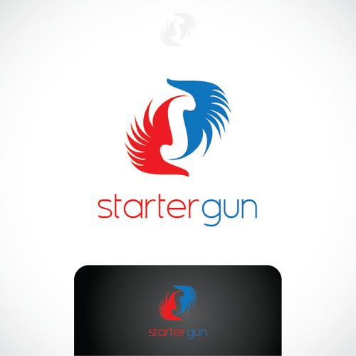 Create the next logo for Starter Gun