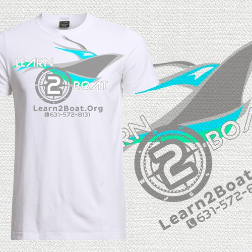 T-Shirt for Boat Instructing Company