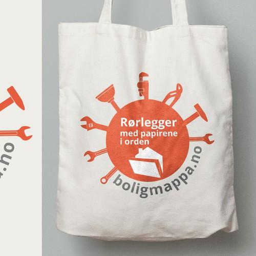 """""""Boligmappa"""" - Tote Bag"""