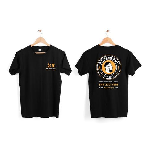 T-Shirt Design - My Beer Guy