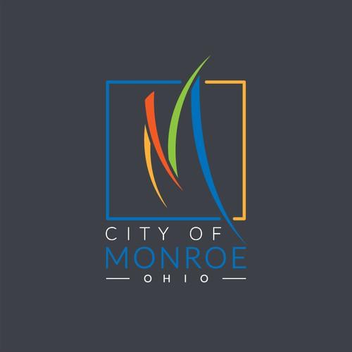 Logo Design Concept for City of Monroe, Ohio.