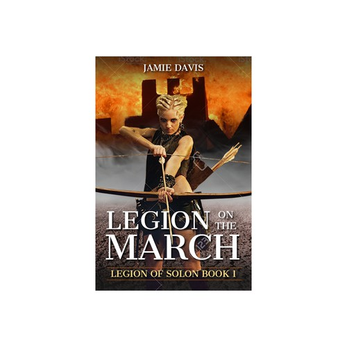 Book cover Legion on the march