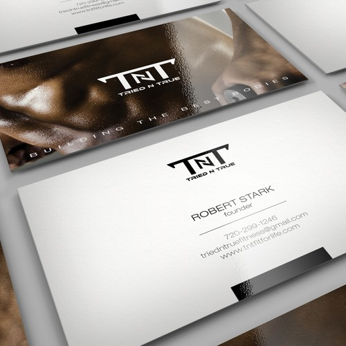TOP Fitness Company worldwide - BUSINESS CARD design!