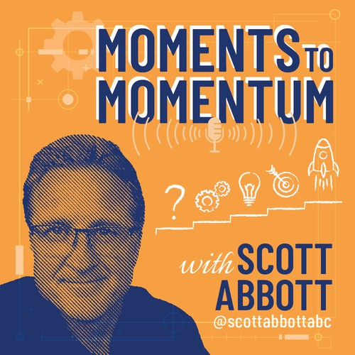 Moments to Momentum Podcast Cover