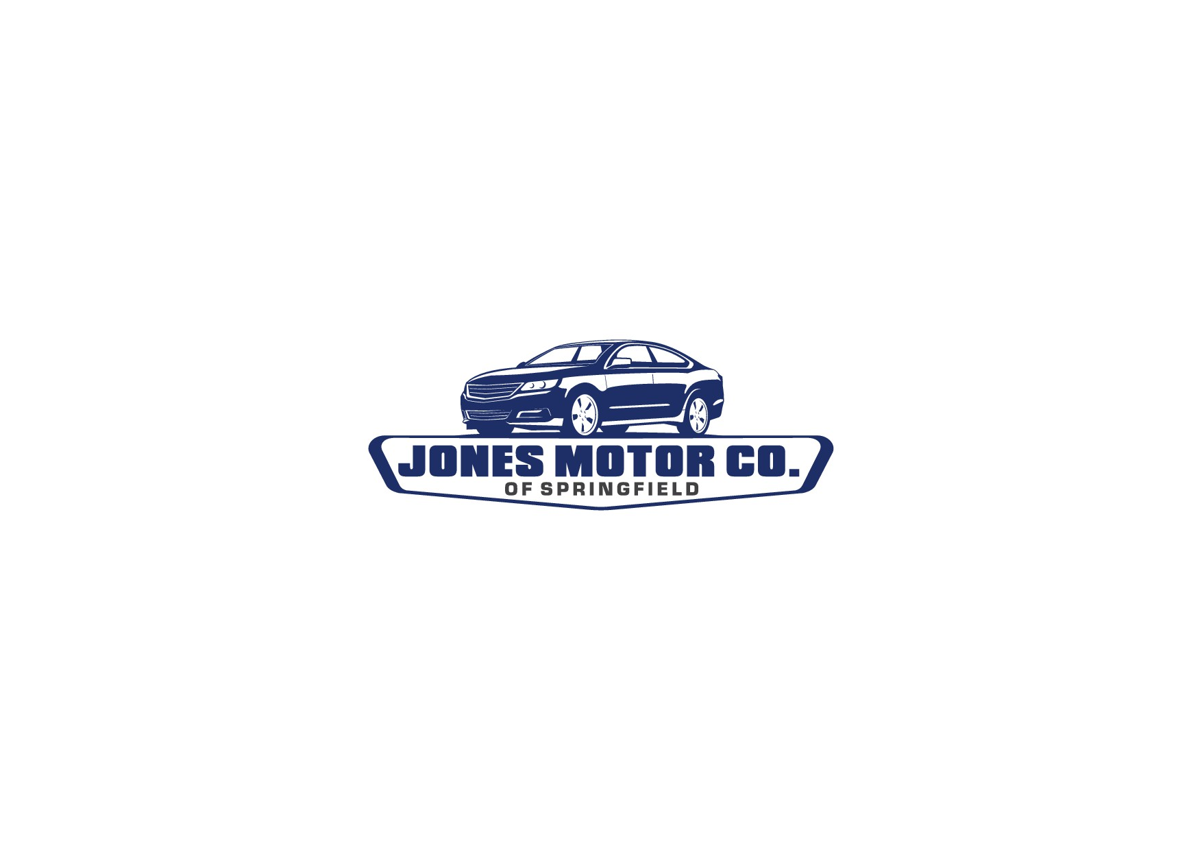 Show Jones Motor Co. of Springfield your skills. Knock our socks off with a great logo.