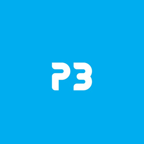 Incredible smart and neat P3 logo.