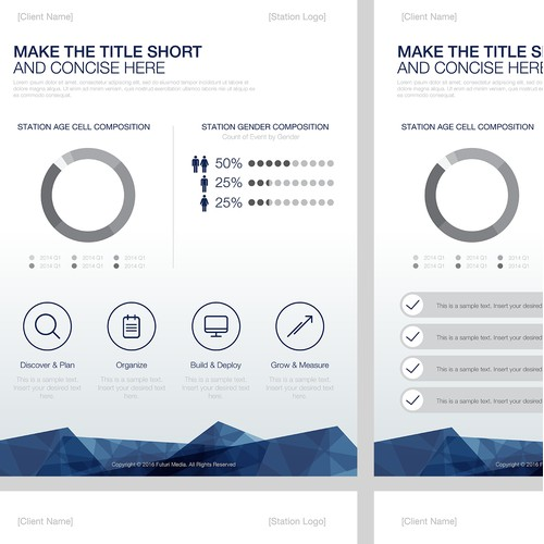 Powerpoint template for research analysts
