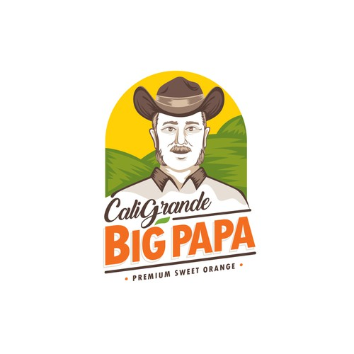 Logo concept for Cali Grande Big Papa