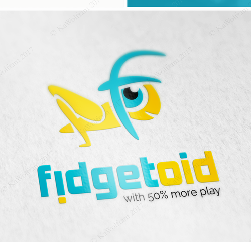 logo for fidget toys business start-up