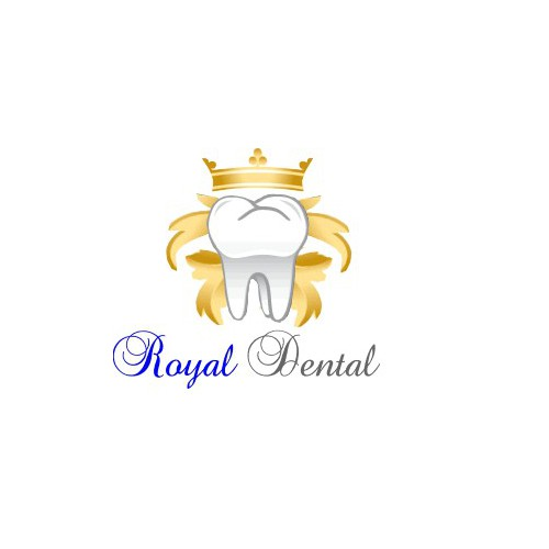 logo design for royal dental