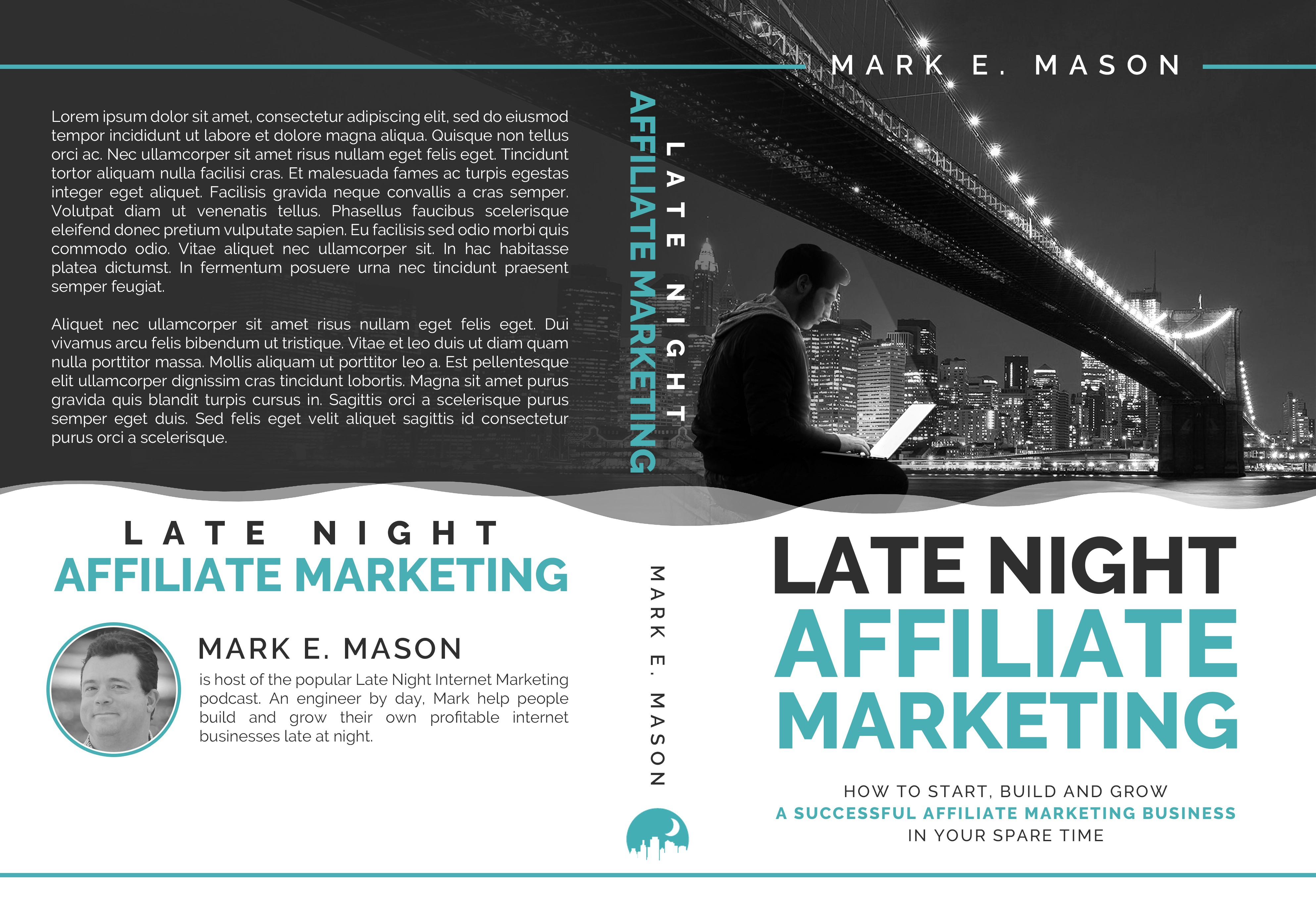 Creative Eye-Catching Affiliate Marketing Book Cover for Side Hustlers