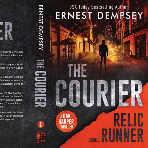 The Courier - Relic Runner Book 1