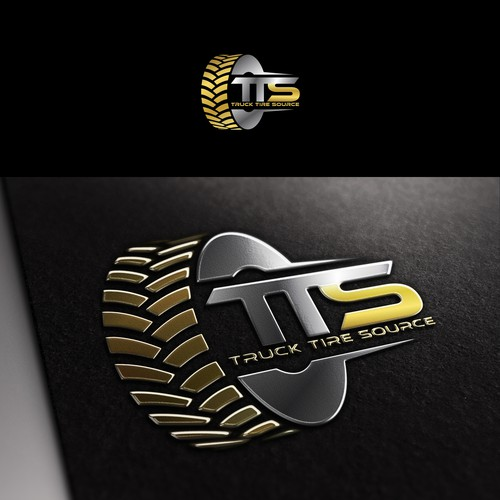 Create a capturing logo image for Truck Tire Source