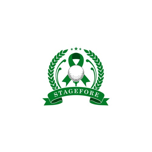 Logo Golf Parkinson foundation