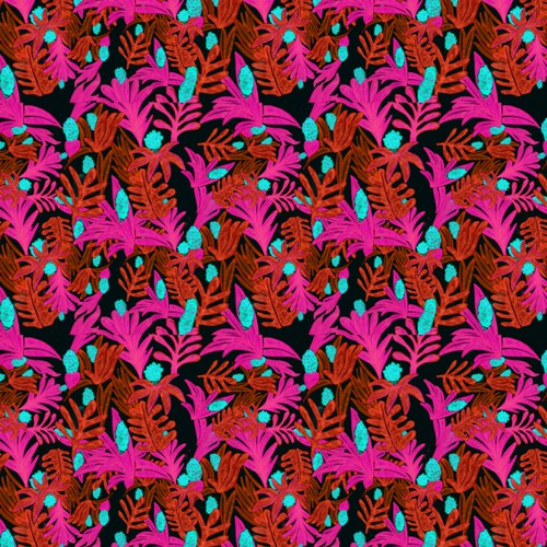 Botanical tropical pattern