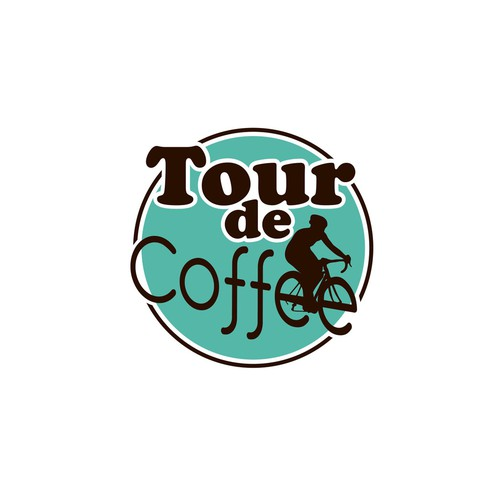 Bike and coffee link logo