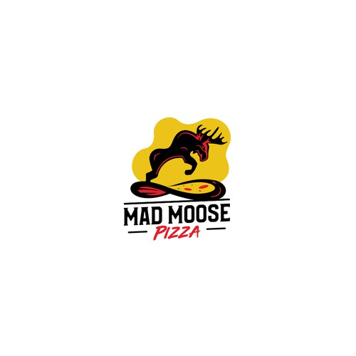 Logo for Mad Moose Pizza