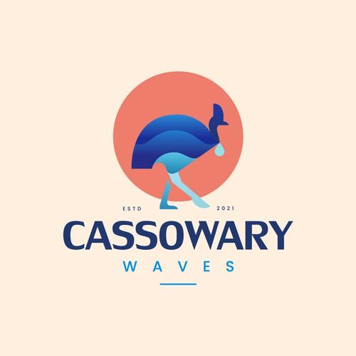 Cassowary Waves