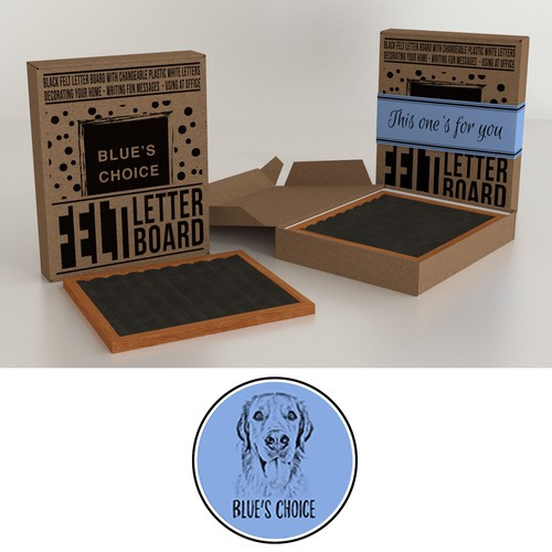 Packaging for Letter Board