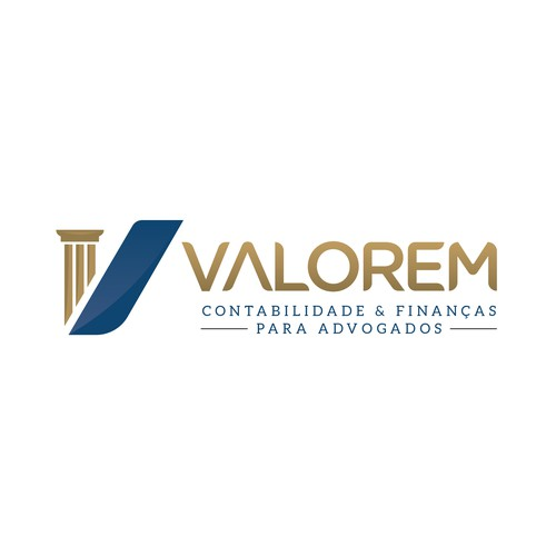Design de logo para empresa de Contabilidade para advogados