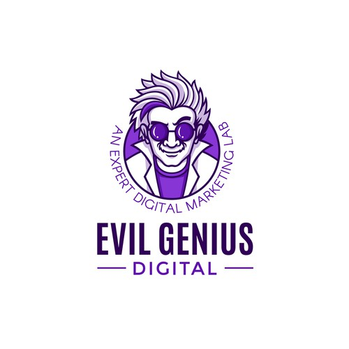 Design a badass logo for our digital marketing powerhouse - Evil Genius Digital