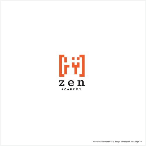 Zen Academy logo design proposal