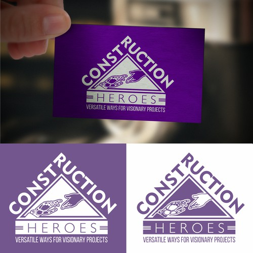 Logo for Conctructions Heroes