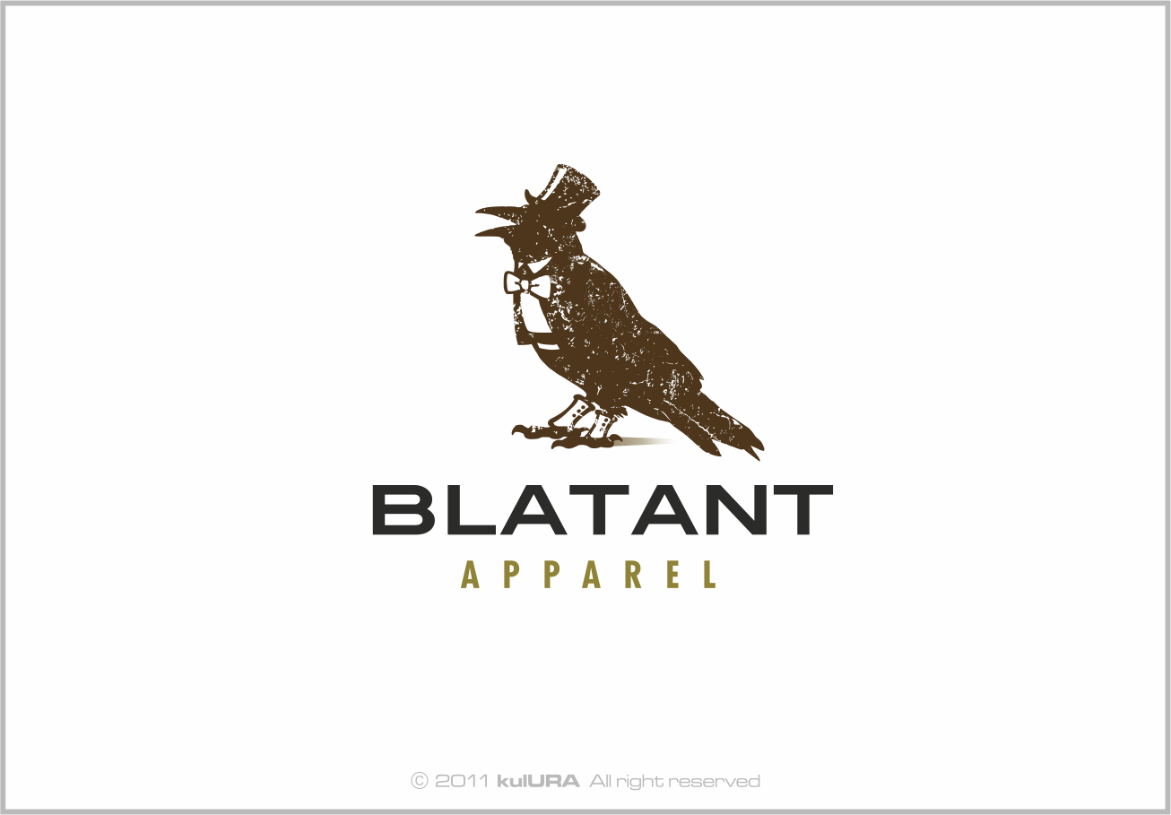 Create the next logo for Blatant Apparel